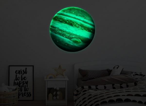 Leuchtaufkleber Planeten Jupiter