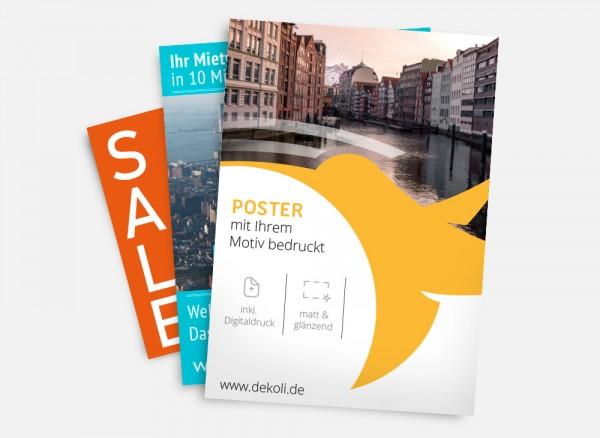 Poster und Plakat Druck