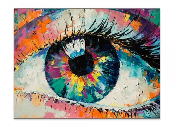 "Leinwandbild ""Das Auge"""