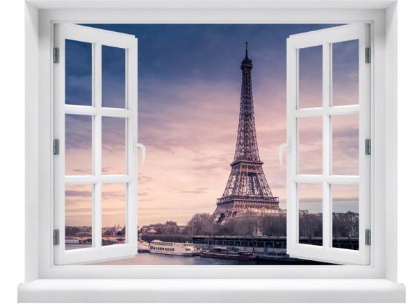 Wandtattoo Aussicht auf Paris
