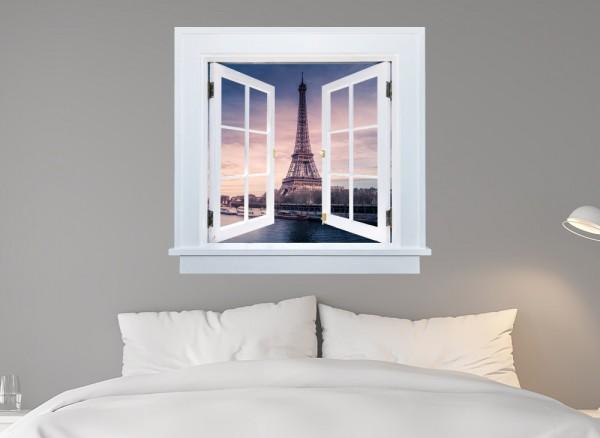 3D Wandtattoo Paris selbstklebend