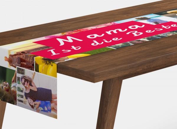 Foto-Tischläufer Tischdecke mit eigenen Fotos