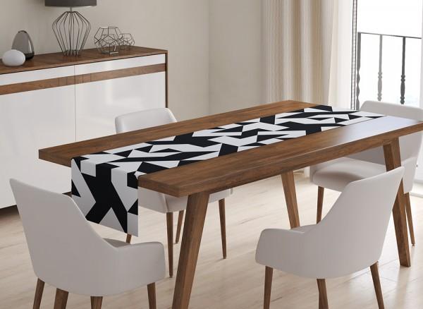 Foto-Tischläufer Motivbeispiel Muster