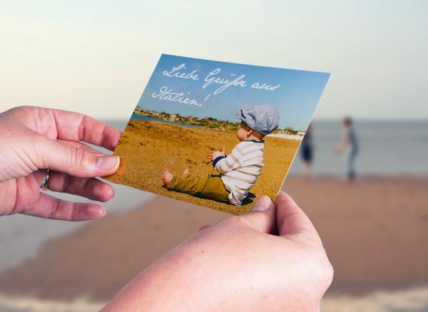 Postkarten selbst gestalten Motivbeispiel