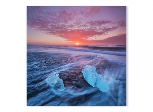 Leinwandbild Naturschauspiel in Island